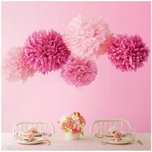 12''(30cm) DIY paper PomPom Flower ball for home and party decoration wedding decoration multi colors festival celebration