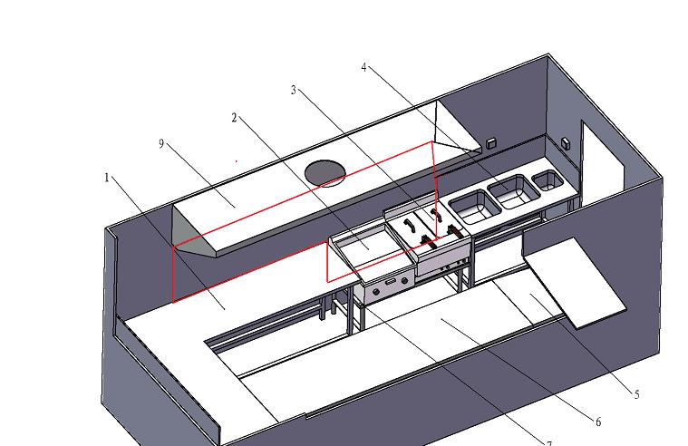 commercial kitchen equipment/restaurant equipment