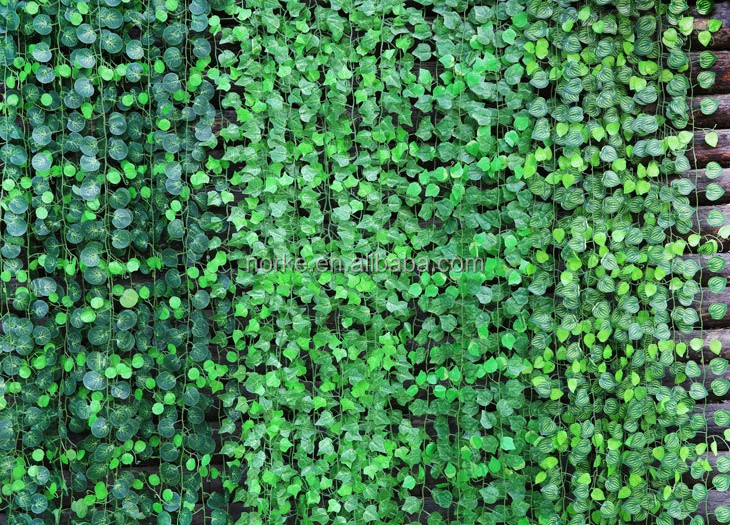 12PCS 7.5FT 100 Leaves Artificial Fake Foliage IVY Vine Garland Small Leaf Garland