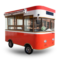 Edition Environmental Protected Electric Drive Mobile Tricycle Food Truck