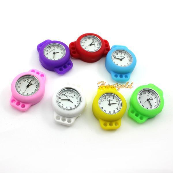 Новый 7 цвета дети по уходу за детьми DIY круглый часы резинкой ткацкий станок браслет часы подарок ручной ремесло