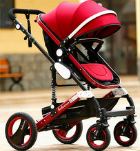 2017 Belecoo High Quality OEM 3 in 1 Baby Stroller Child Pram with EN1888