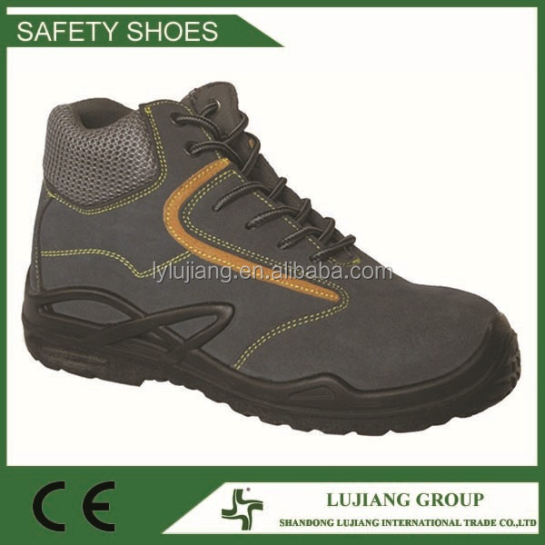 Suede cow leather safety shoes hiker shoes sports shoes
