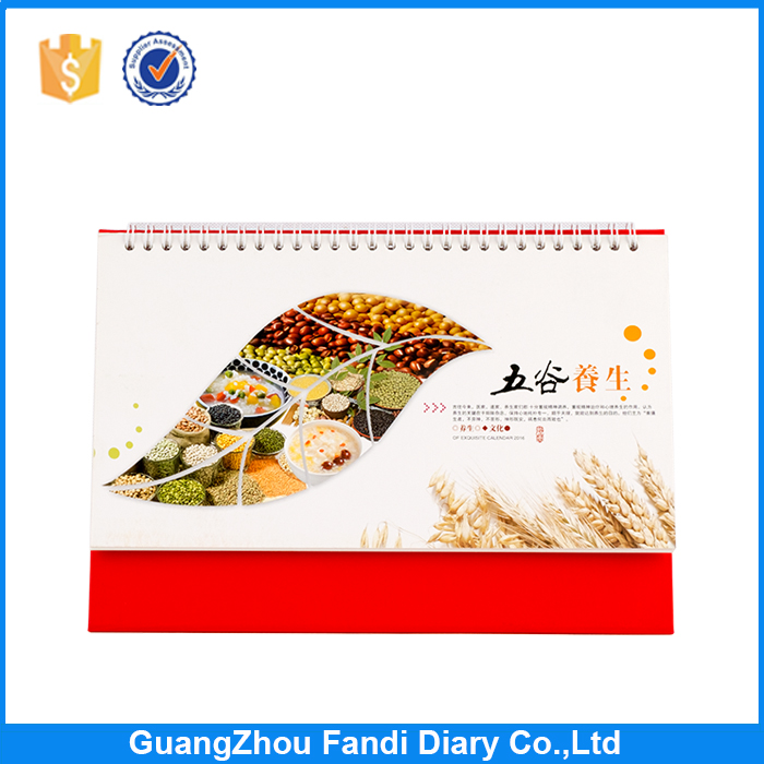 Fashion Manufacturer Custom Made perpetual Printing daily Calendar