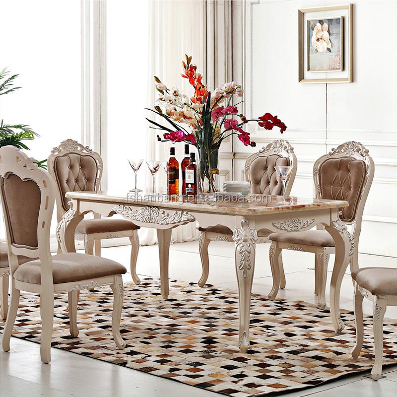 mesa de comedor estilo frances