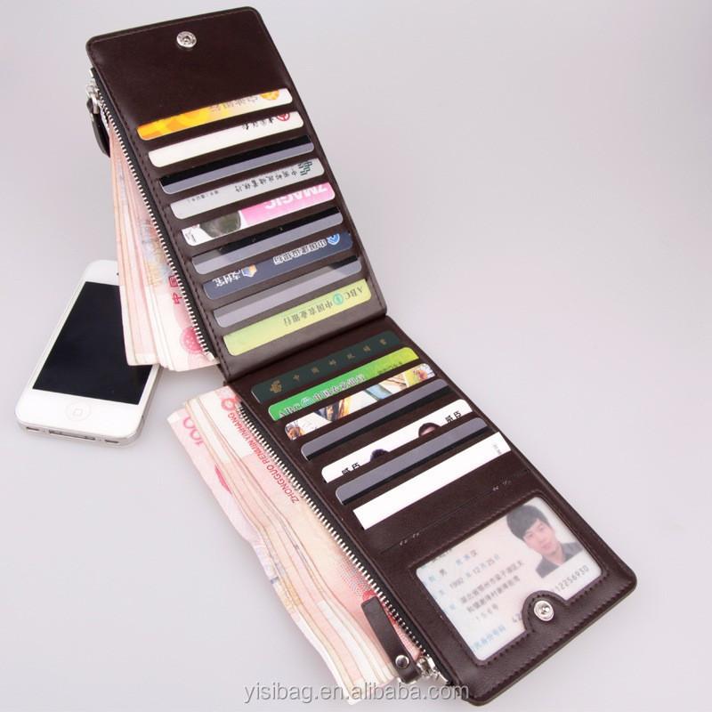Pu Smart Card Wallet For Men - Buy Smart Wallet For Men,Pu Smart ...