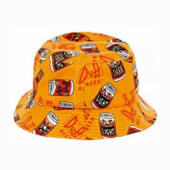Duff Beer All-over Print 100% Cotton Bucket Hat - Buy Bucket Hat ... b0d5bd949c8