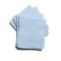 blue color jacquard nonwoven disposable hand towel