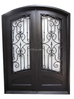 Modern Interior Doors With Safety Door Iron Double Door Grill Design