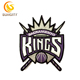 Promotional Design Patch For NBA Baskeball Sacramento Kings Embroidery Patch