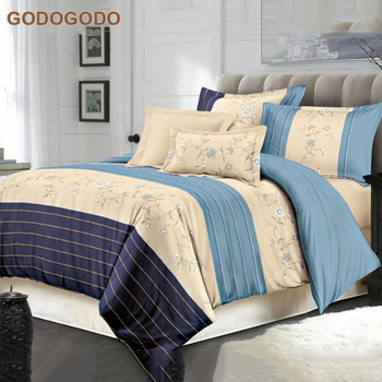 Marvelous Modern Design Luxury Polyester King Size Bedsheets Bedding Set Bridal Online  Queen Size Bed Sets