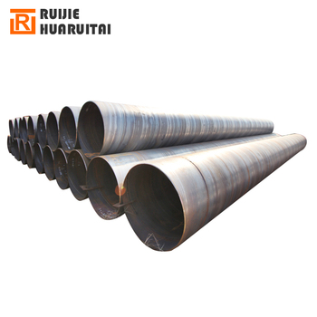Large diameter welded thin wall steel tube in stock, round spiral pipe 800mm diameter steel pipe