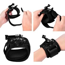 Drop shipping camera accessories wrist strap adjustable hand wrist mount for go pro mount / xiao mi
