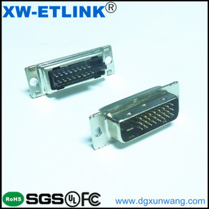 DVI Connector 24+1 Male Gender Single Row DVI