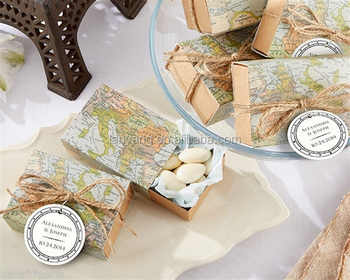 Around the world map favor box wedding candy boxes baby shower around the world map favor box wedding candy boxes baby shower decoration kraft boxes gumiabroncs Image collections