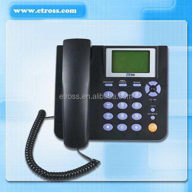 Good Quality Low Price GSM Fixed Wireless Phone ZTE WP623, View dual sim  gsm fix wireless phone, ZTE Product Details from Shenzhen Etross Telecom  Co ,