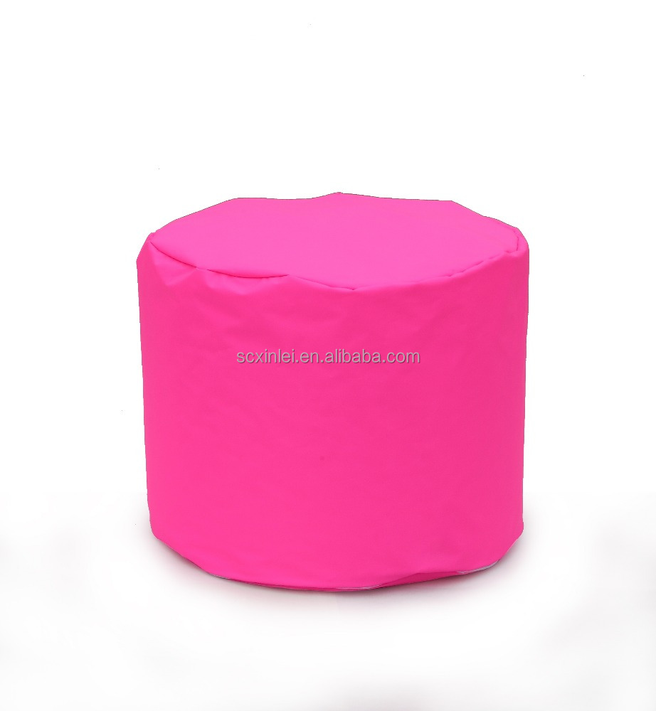 Stupendous Kids Round Beanbag Lazy Bag Chair Ottoman Buy Fabric Round Ottoman Desk Chair Ottoman Beanbag Lazy Chair Product On Alibaba Com Theyellowbook Wood Chair Design Ideas Theyellowbookinfo