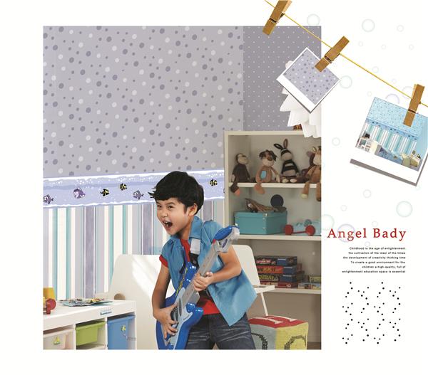 Arte Wall Paper Cartoon Wallpaper/fashion Style Wallpaper Interior ...