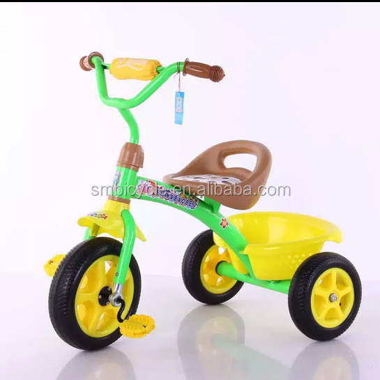 2012 New Fashion children baby tricycle with handle bar SM-1215