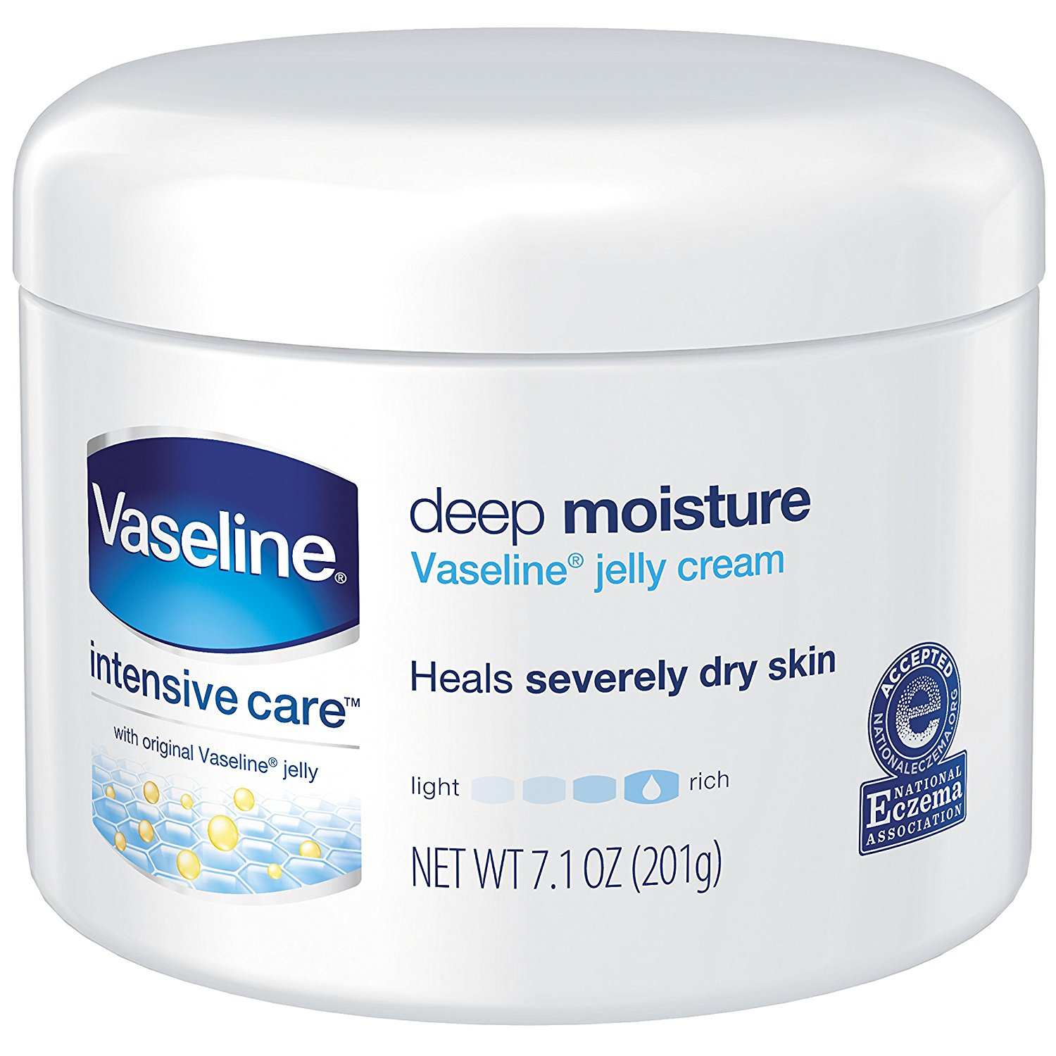 Get Quotations · Vaseline Intensive Care Deep Moisture Jelly Cream 7.10 oz