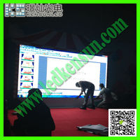 Energy saving full color HD LED video display screen digital security module