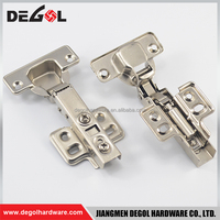 Top quality iron fix on hydraulic full overlay furniture european corner cabinet hinges