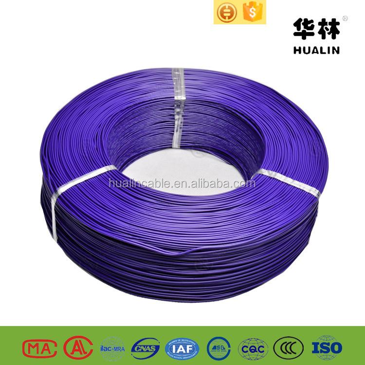 Violette Farbe Ul1007 22awg Pvc Isolierte Elektrokabel Drähte - Buy ...
