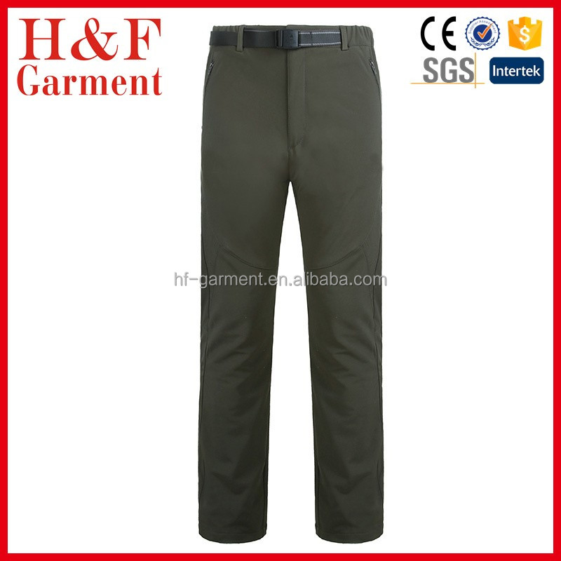 Fine Quality Custom Waterproof softshell snowboard pants men