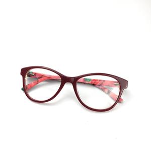 86f17a3f739 2018 China factory women handmade acetate clear lens fashion optical  eyewear frames 2736