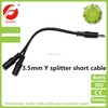 High quality 3.5mm headphone jack y splitter audio adapter cable