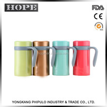 2017 New design double wall stainless steel baby flask,thermos vacuum flask