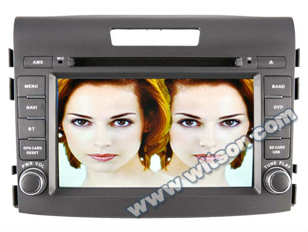 WITSON for HONDA CRV 2012 touch screen dvd with SD card for Music and Movie