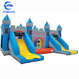 Factory cheap bouncy castle price inflatable bouncy castle with water slide
