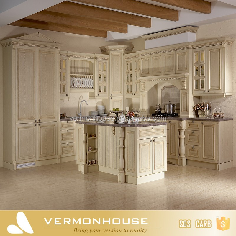 2018 Vermonhouse HangZhou Vermont Kitchen Cabinets Solid Wood With Lazy Susan
