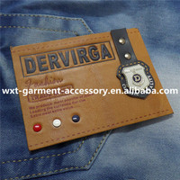 L-13 pu leather label,garment leather label,private label nail polish