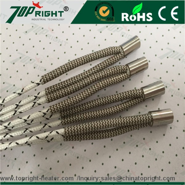 Thermocouple Heating Element : Ceramic cartridge heater with thermocouple low voltage