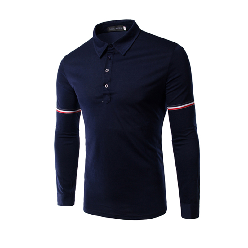 customized brand fashion business clothes formal blank quick dry soft and breathable men's polo shirt slim fit