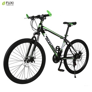 26 inch mountain bicycle/wholesale carbon steel mountain bike for export/new model MTB bicycle with dual disc brake