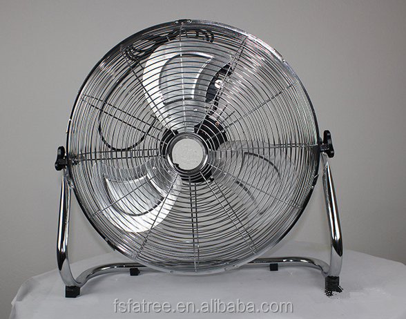 Large Floor Fans : Large high velocity industrial warehouse fan rolling drum