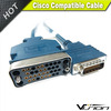 Cisco Compatible Interface Cable, HD60 Male to v.35 Female, Equivalent to CAB-V35FC-3M, 10 ft