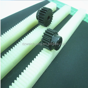 best selling CNC machining plastic spur rack gear