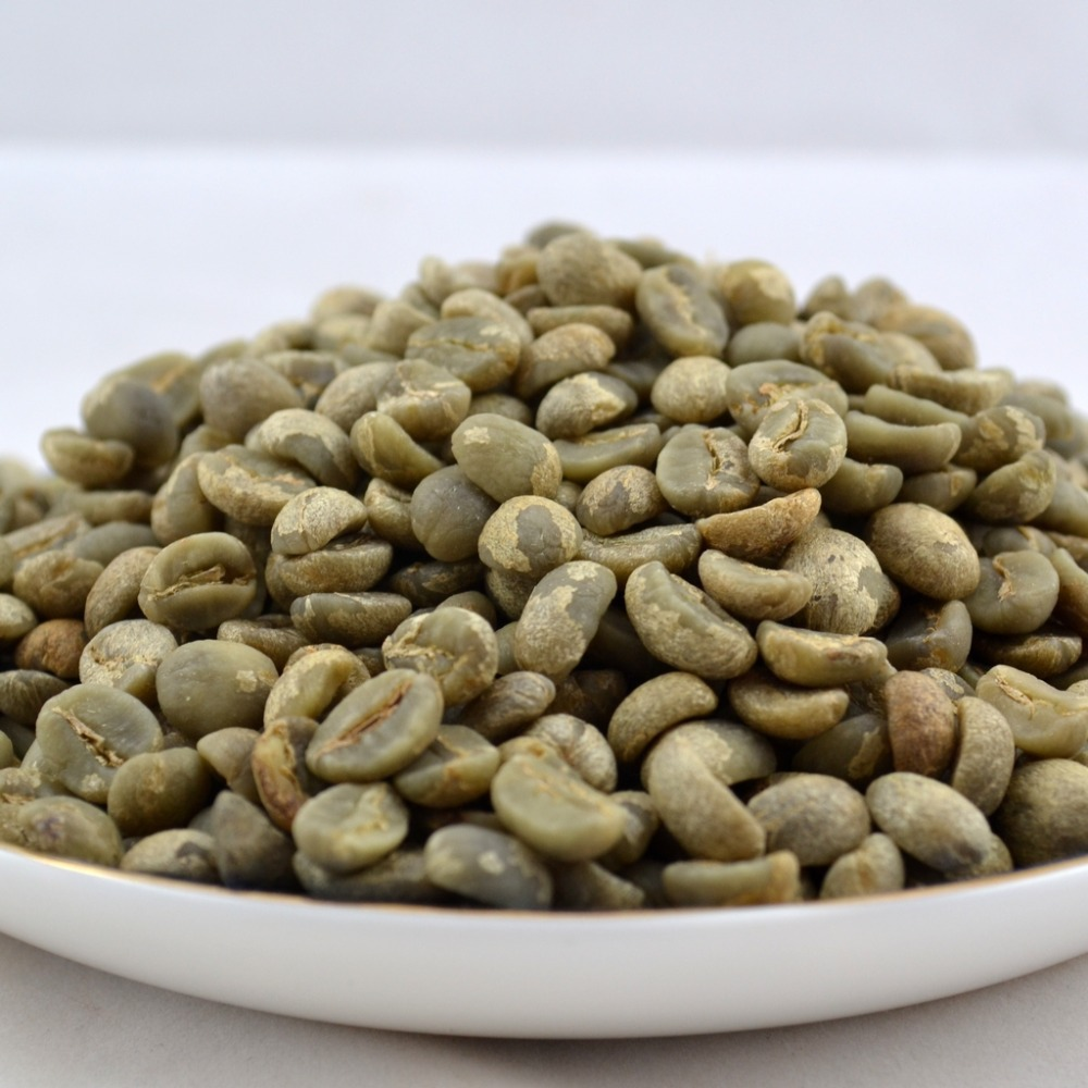 2013 Yunnan Green Coffee Bean High Altitude Arabica Aa Beans