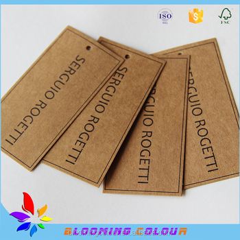 direct factory price used clothing garment hang tag template buy