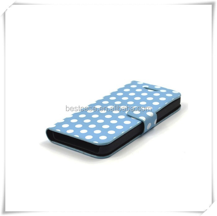New Products Leather Case Dot View Flip Case Cover For Samsung ...