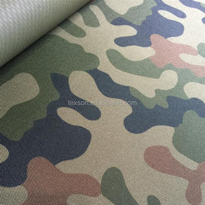 PVC coating Camouflage fabric Watertight fabric textile