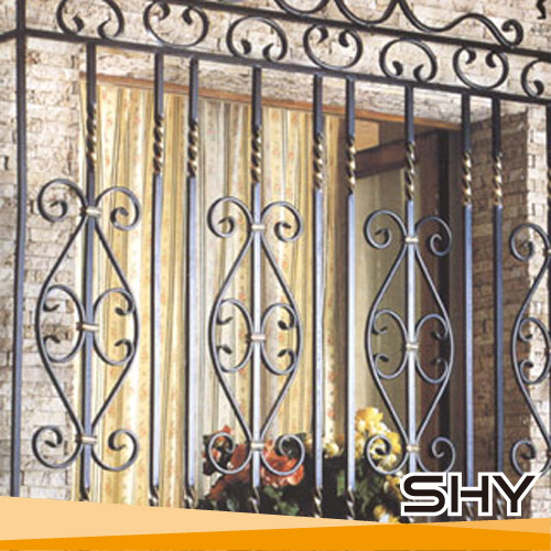 Modern Wrought Iron Safety Window Grill Designs