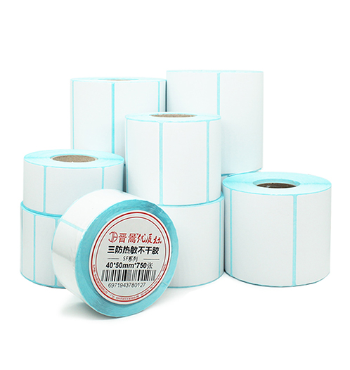 Self Adhesive 2 3 4 5 6 7 8 9 10 Inch <strong>Label</strong> rolls Direct Thermal Sticker Paper Waterproof Shipping Logistics Address <strong>Labels</strong>