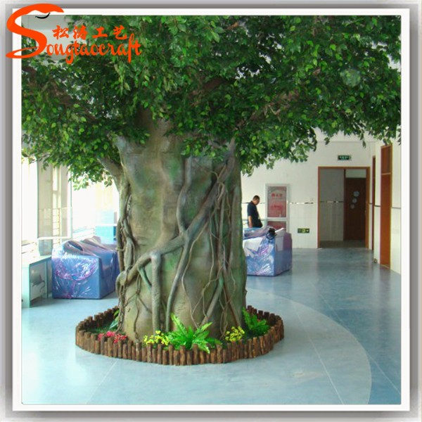 Life like and life size fake trees for indoor artificial plants ...