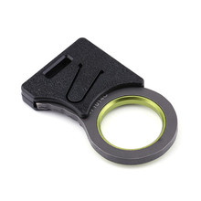 Thống EDC Tool Outdoor Survival Móc <span class=keywords><strong>Dao</strong></span> Lap-belt Cut Thumb Grip Keychain