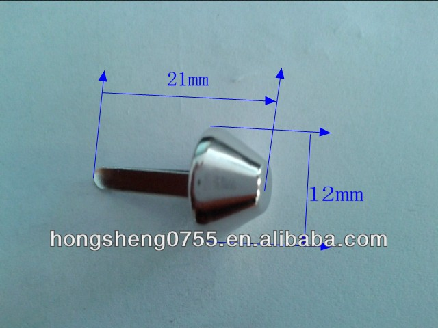 Promotional metal studs for clothings with high quality